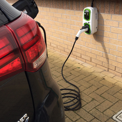 electric vehicle charging units